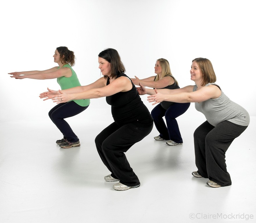 Why pregnant women need a flexible pelvic floor claire for Floor exercises