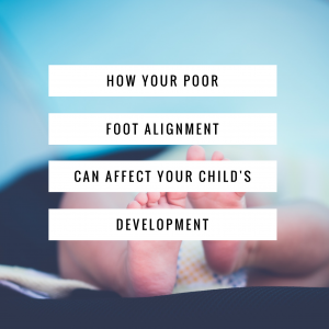 Foot and baby development