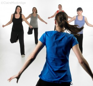 Photo of exercise class